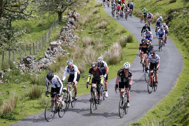 You could join hundreds of other cyclists for next year's Dragon Ride