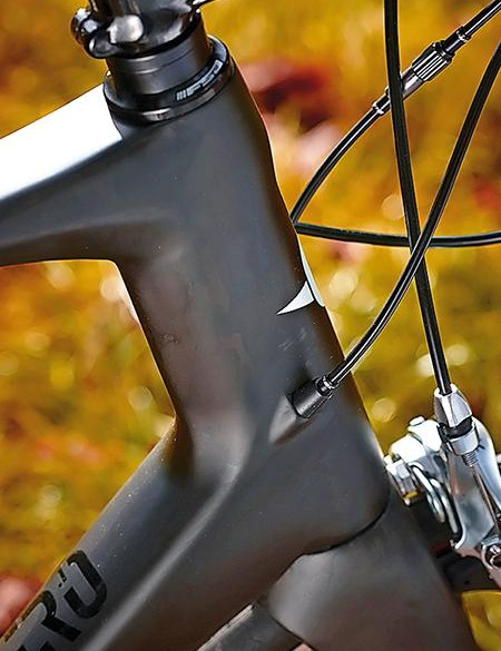 The Zero's frame is ready for electronic shifting systems