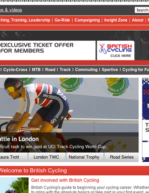 Check in with British Cycling for even more advice