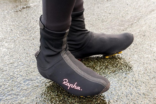 Rapha's Deep Winter Overshoes have three layers to keep water and wind out