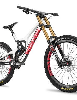 The Santa Cruz V10 gets updated with 27.5in wheels and adjustable geometry