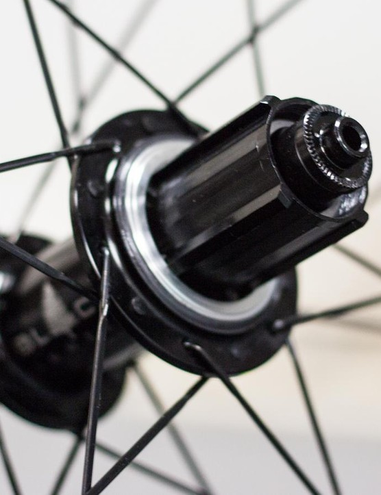 Shimano and Campagnolo options are available for all the wheels – the freehub clicks quietly