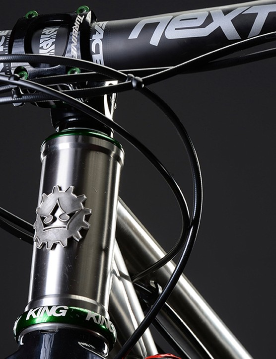 That pewter headtube badge is a nice touch