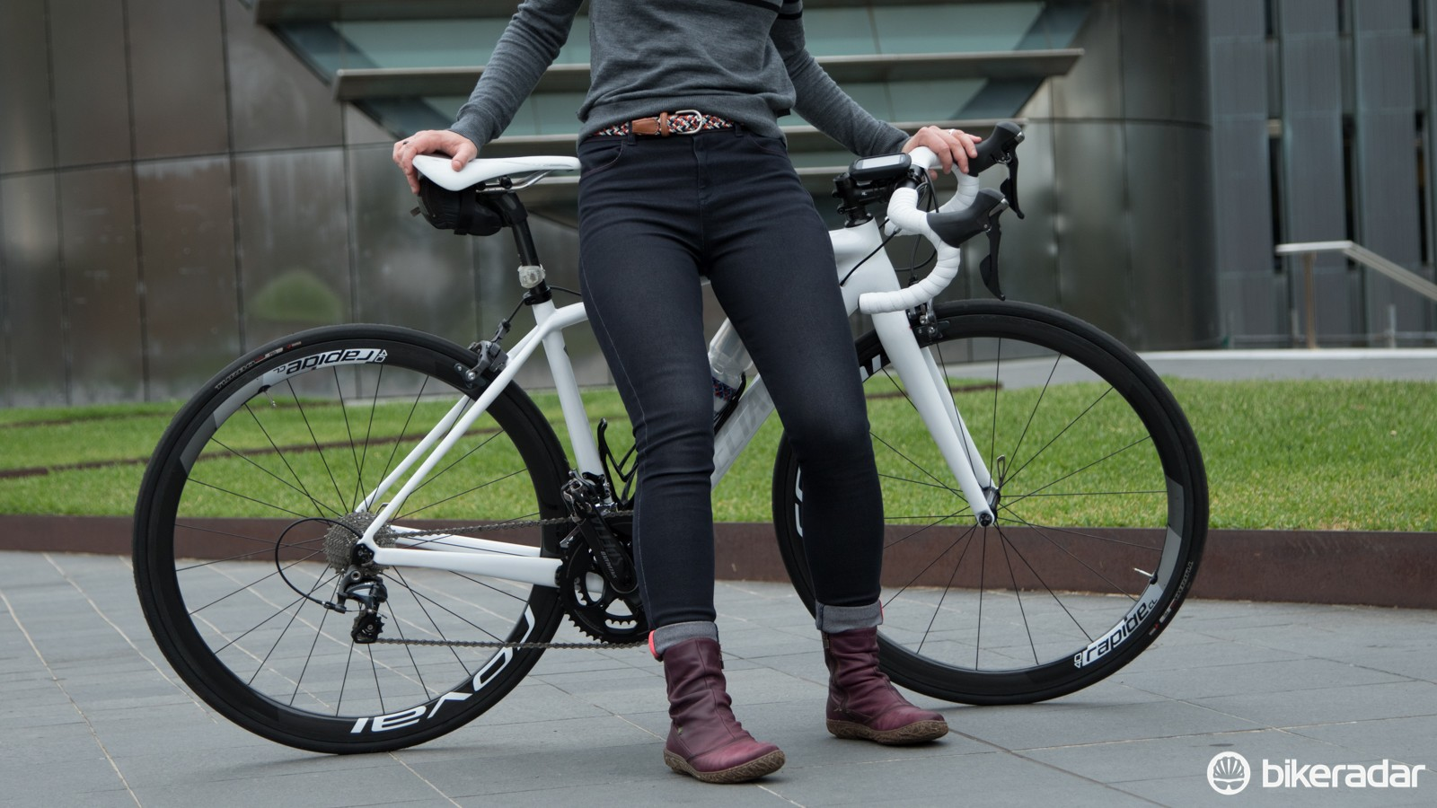 Jeans designed to support a cycling lifestyle (and cycling thighs)