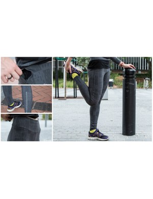 The Women's Leggings (£90 / US$140 / AU$140) are one of the more casual items in the range, but still add functionality to an item popular among many women