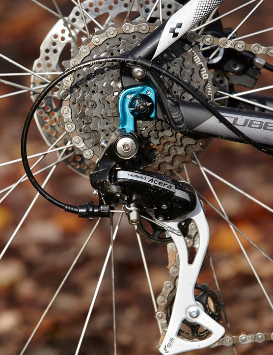 Having a 24-speed groupset instead of the more common 27-speed is not as big a problem as you might think