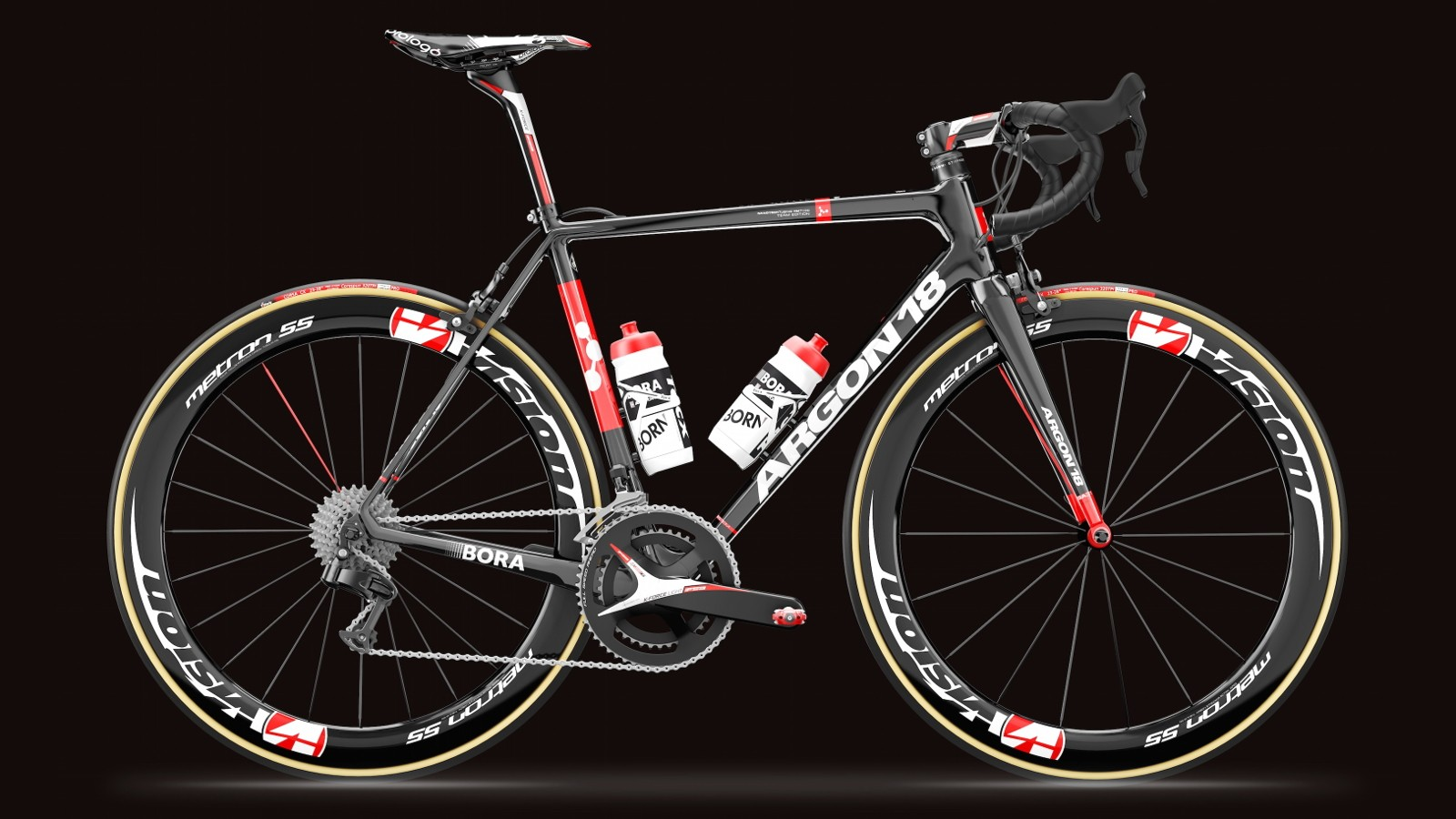 The Gallium Pro is extremely light, stiff, yet - says Argon 18 - compliant