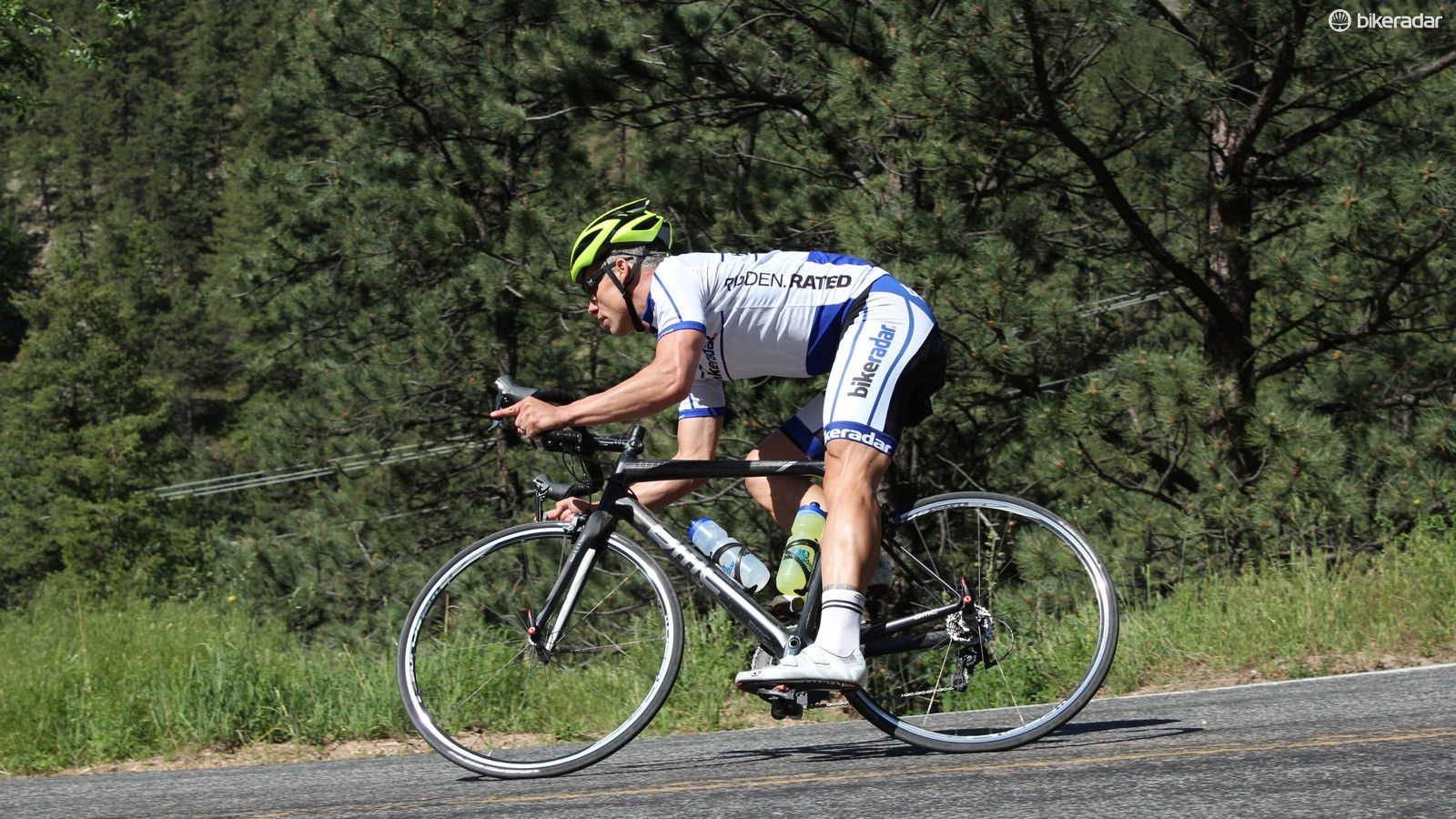 I loved riding the BMC Teammachine SLR01 - up and down mountains, on dirt, pavement... anywhere, really