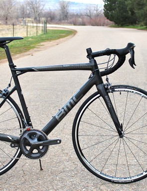 The BMC Teammachine SLR01 comes in a few configurations. This is the Ultegra model