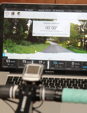 Using the ANT+ USB stick, you can ride Bkool on Mac or PC. With a Wahoo ANT+ key, you can use an iPad, too
