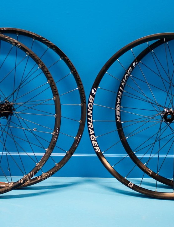 Bontrager  Line Elite and Rhythm Elite wheels