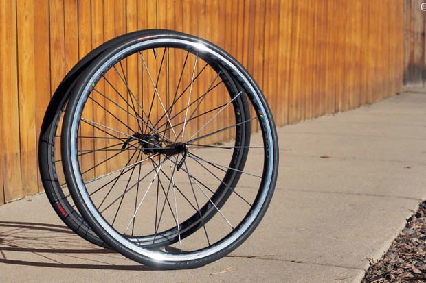 The Ritchey WCS Zeta II road wheels are reasonably light and feel decently quick but they're also superbly durable - and not outrageously expensive, either