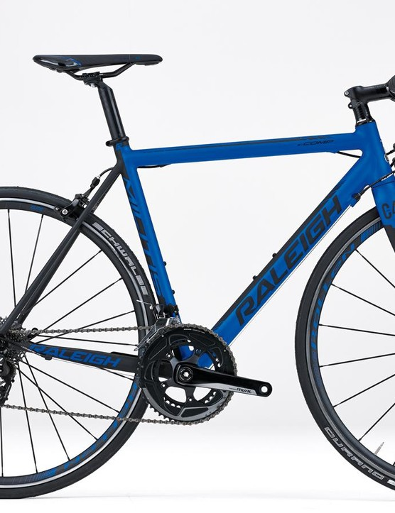 The Militis Comp sports a gorgeous dark blue paint job