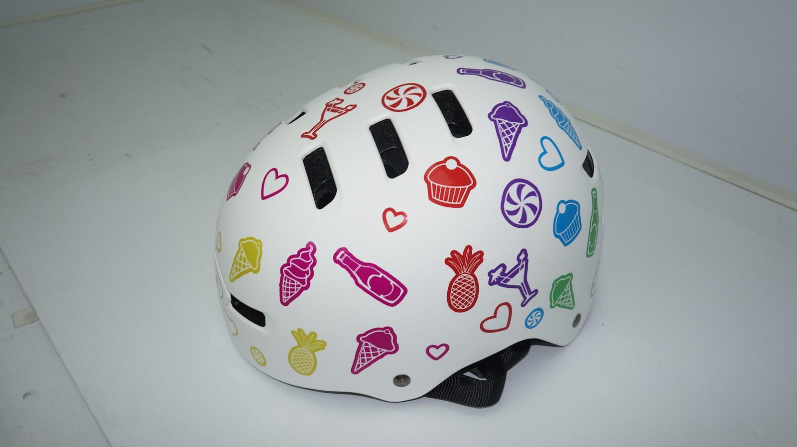 Perry's custom Bell Faction Helmet