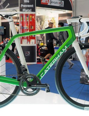The Caterham Duo Cali is the best-looking green road bike ever. Probably