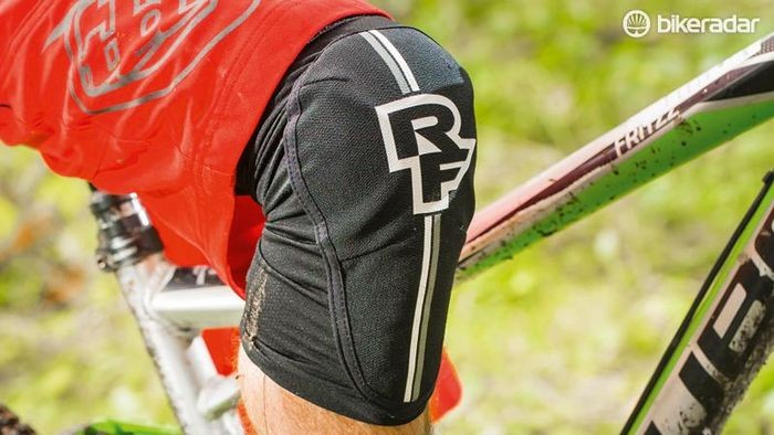 The Race Face Indy knee pads are comfortable enough for all-day riding