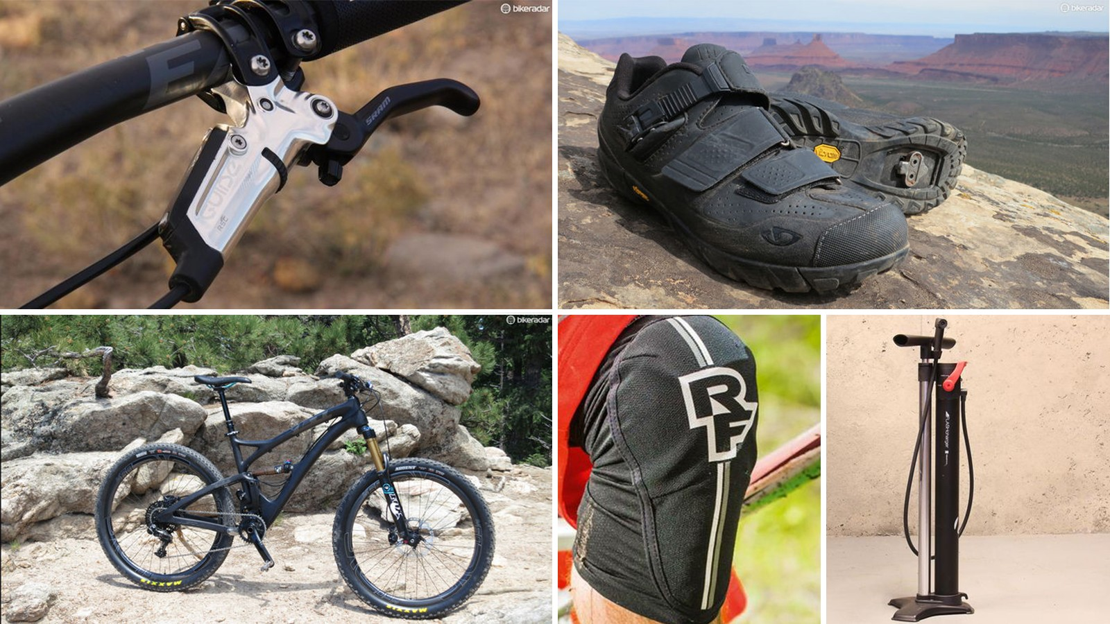 As a tech editor, I selected products that raise the bar, solve a genuine need among mountain bikers, or that I found myself reaching for each time I hit the trail