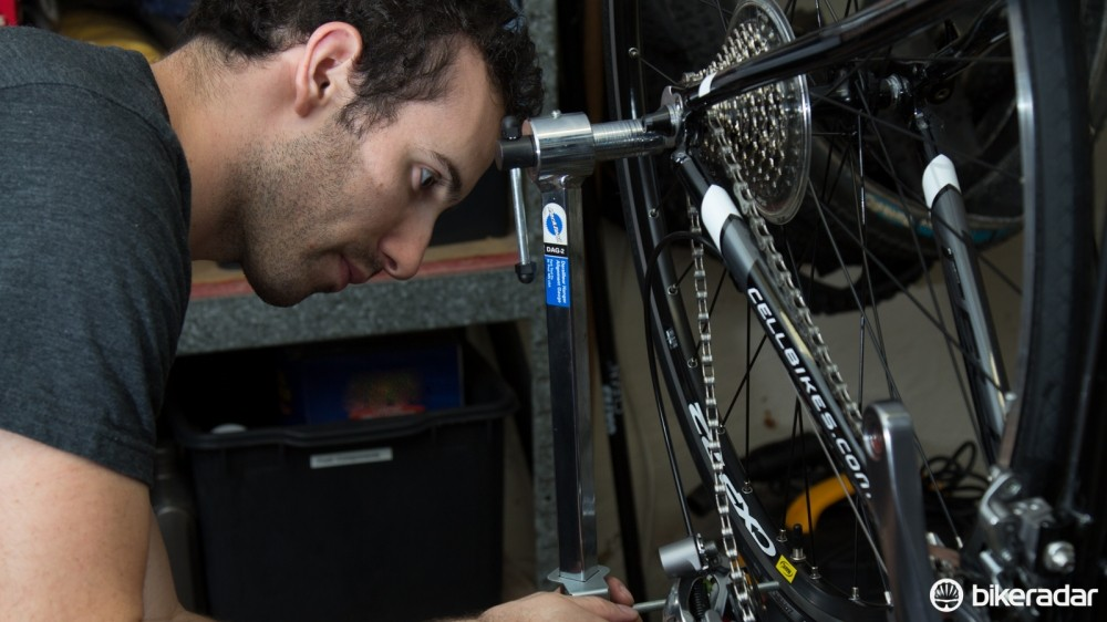 It's amazing how many new bikes arrive with bent derailleur hangers. It doesn't take much to knock these fragile items out of alignment, so don't assume yours is straight