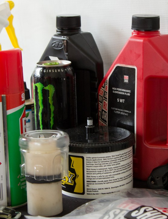 Not all greases are the same. This is especially important if you're working on hydraulic brakes or suspension