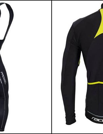 Altura Raceline LS jersey and Progel bib tights back, Altura Raceline LS jersey and Progel bib tights back