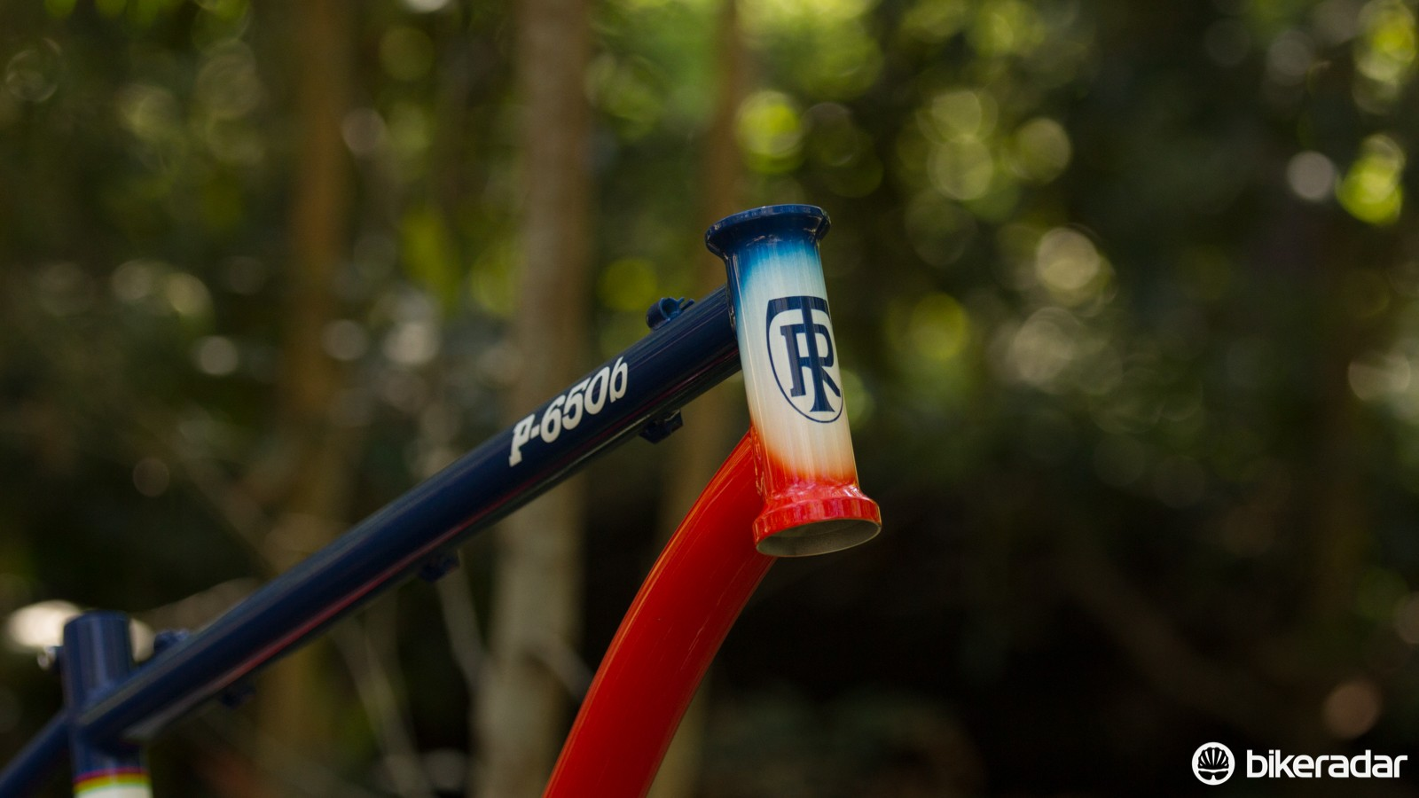 For 2015, the P-650b gains a tapered head-tube. Our 2014 version uses a straight 1 1/8in steerer