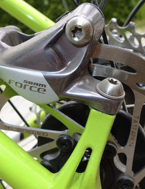 One of Ben's most popular columns focused on disc brakes for road bikes