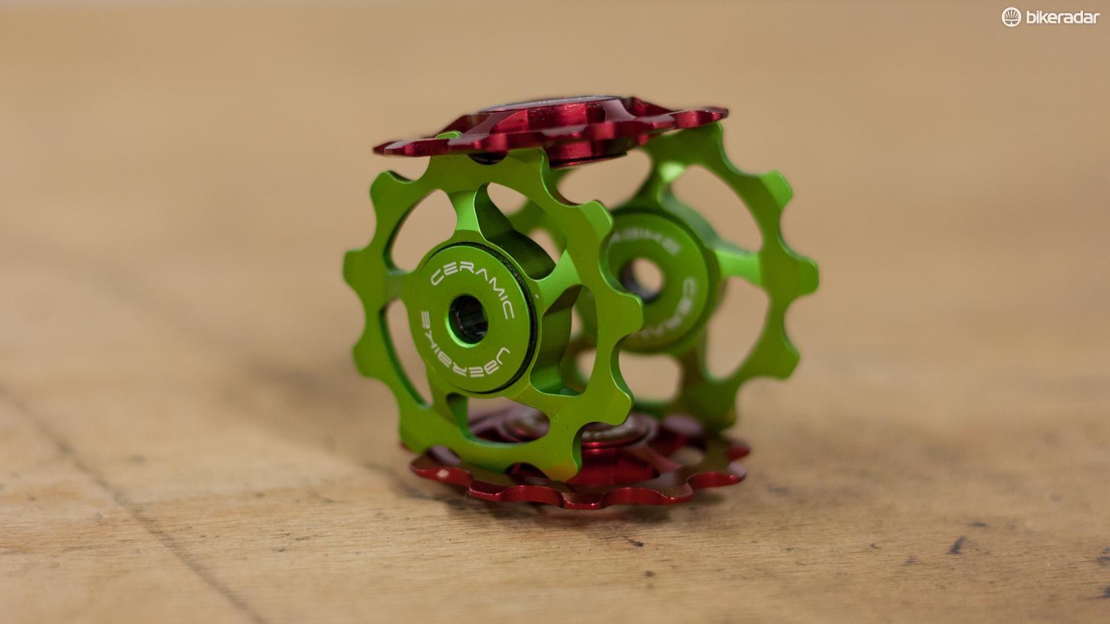 Uberbike ceramic jockey wheels