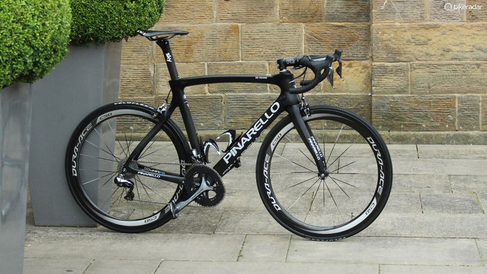 The new Pinarello F8 was second, with seven percent fewer votes than the Cervelo