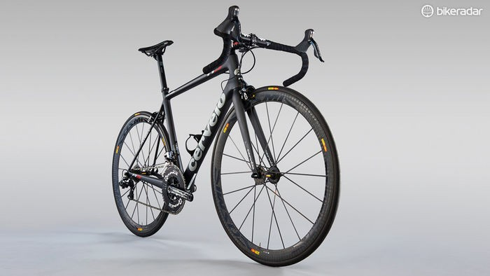 The Cervelo R5 was voted the best team bike