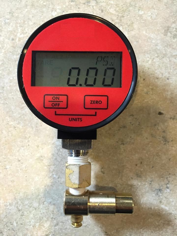 Kappius Components' new Digital Pressure Gauge offers finer resolution and better accuracy than the normal to better fine tune your tire setup