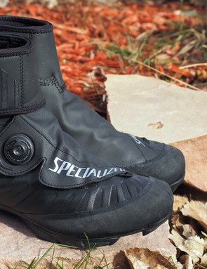 The Specialized Defroster Trail winter-specific shoes keep your feet warm and dry but they also fit very well