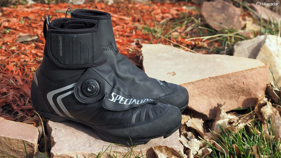 27e6fd9bd21 The Specialized Defroster Trail winter-specific shoes keep your feet warm  and dry but they