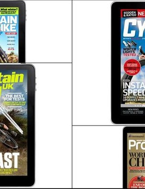 Treat yourself to a top cycling mag this Christmas