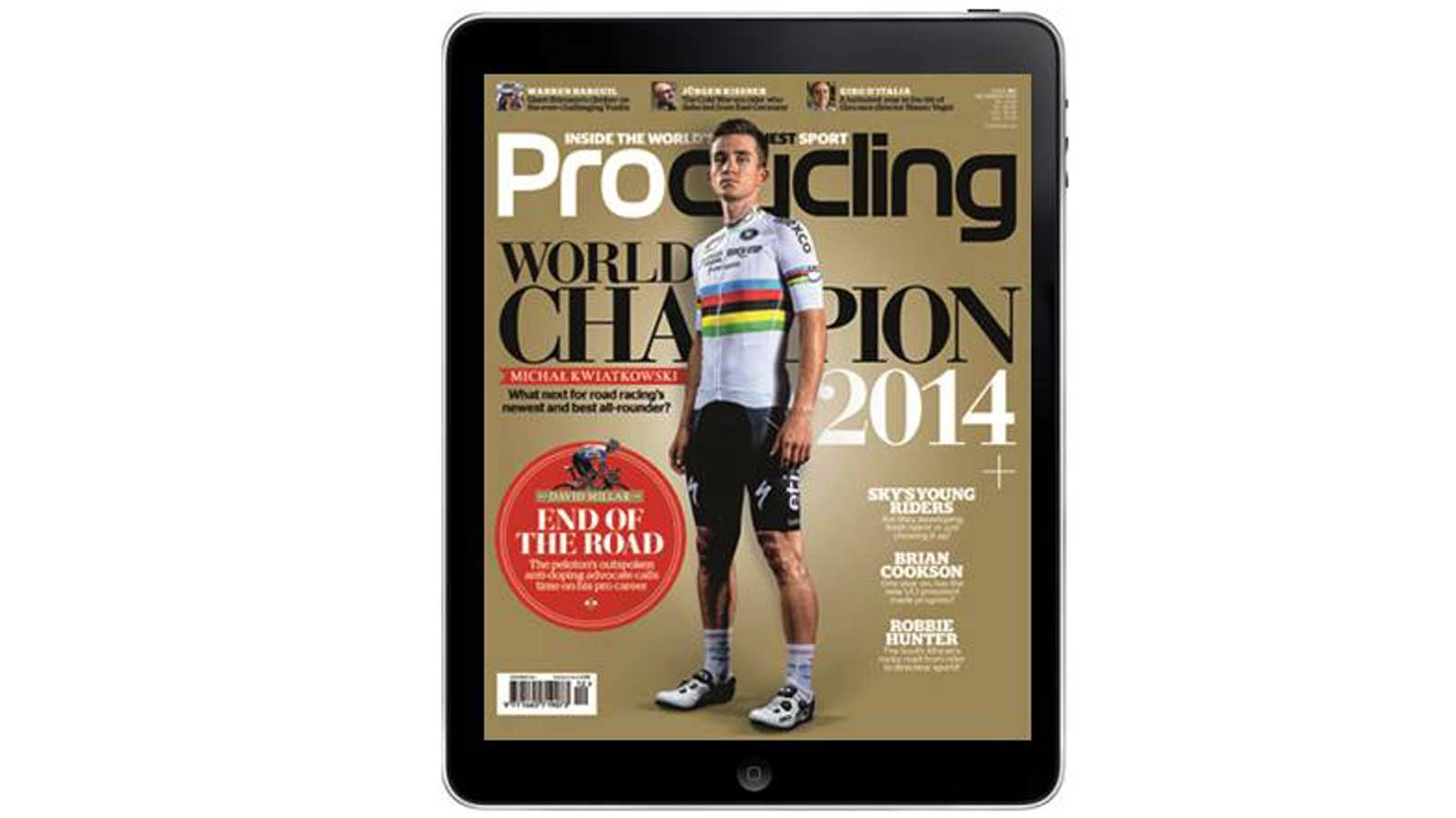 Love the sport of cycling? Procycling is for you