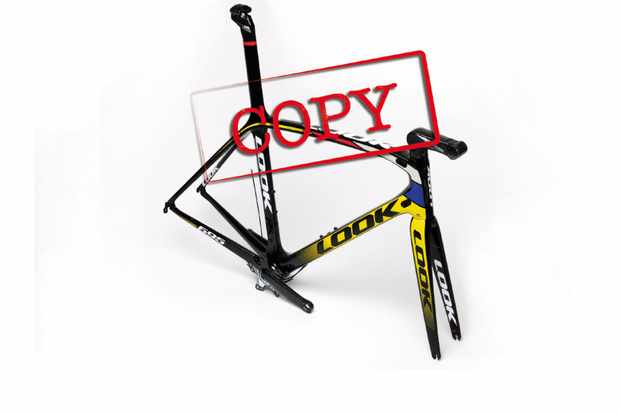 Look highlight counterfeit 695 frames - don't buy one of these