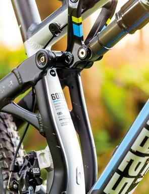 Chunky linkages don't help with weight, but boost downhill confidence