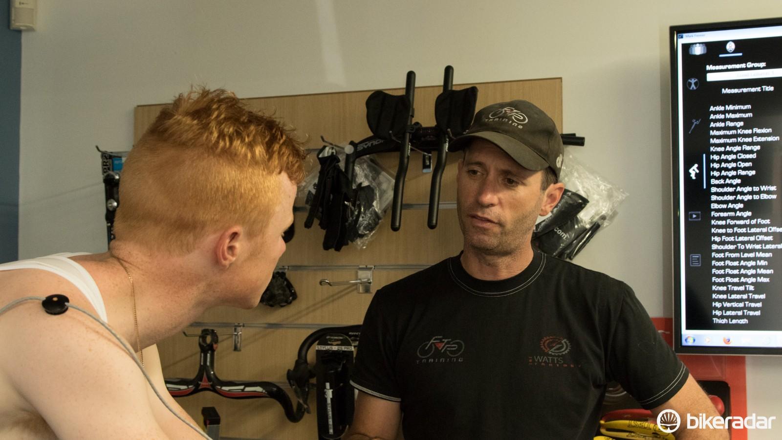 Luke Mudgway and Damian Mason talk saddles and saddle height