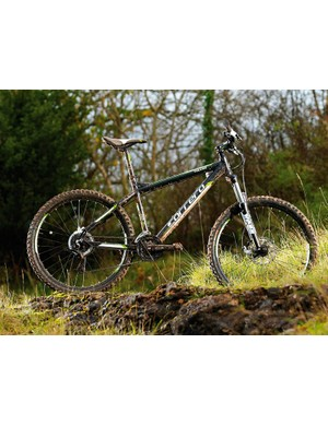 The Carrera Vulcan makes for a superb entry-level mountain bike