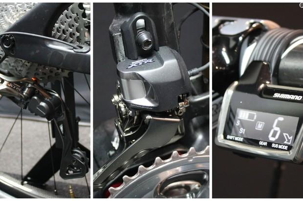 Shimano M9050 XTR Di2 groupset