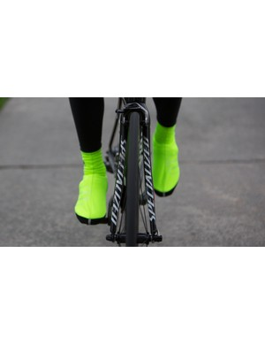 There are black, white and red options along with the high-vis yellow