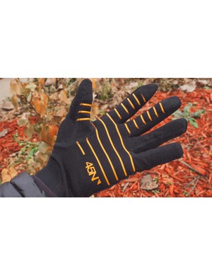 The top-end 45NRTH Sturmfist 4 gloves come with removable Merino wool liners, which are actually quite warm by themselves