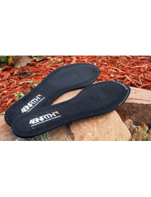 45NRTH uses the same aerogel material in its Jaztronaut winter insoles