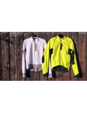 Bontrager's expansive cold-weather clothing range includes the RXL Convertible 180 softshell jacket (right) and the RXL Thermal long sleeve jersey