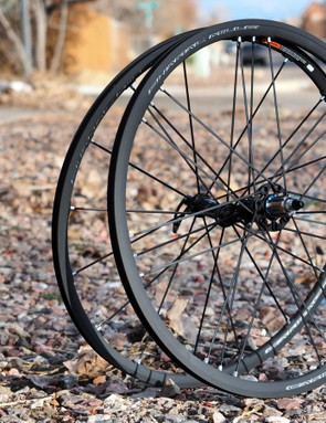 Campagnolo's new Shamal Mille alloy road clinchers are remarkably rigid given their impressively low weight