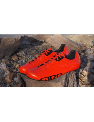 The Giro Empire SLX road shoes are incredibly lightweight at just 374g for a pair of size 43.5s