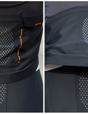 The jersey has a tendancy to slide up while riding, reducing the aerodynamics of this WO Essentials kit