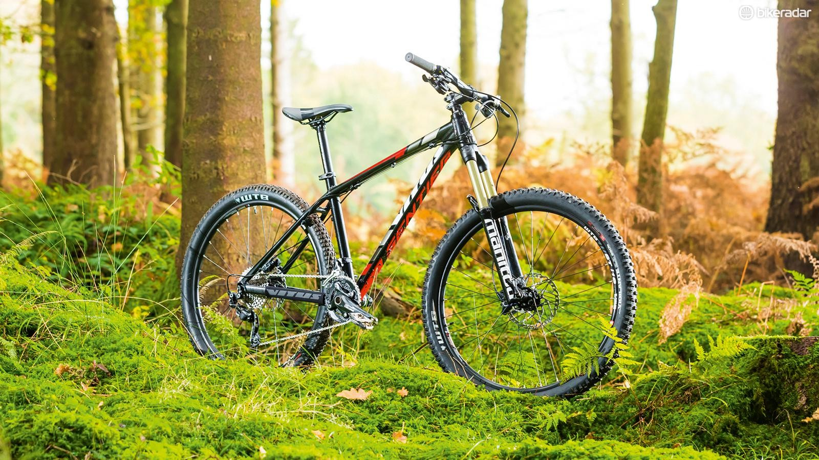 Vitus Sentier 290: A good bike that's ready to rip up the trails from the box