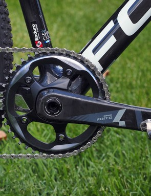 Krughoff is one of many SRAM-sponsored cyclocross riders to go with the new CX1 1x11 drivetrain this year