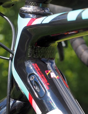Tidy internal cable routing