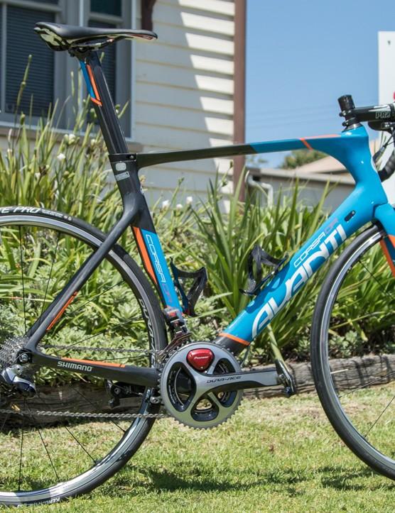 Fraser Gough's new 2015 Avanti Corsa DR